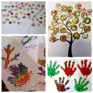34 bricolages d39automne a faire avec les enfants cour With affiche chambre bébé avec un bouquet de fleurs par mois