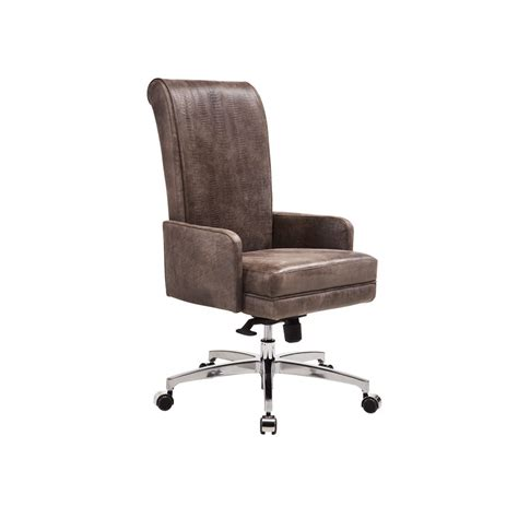 a chair on wheels leather upholstery roller smania
