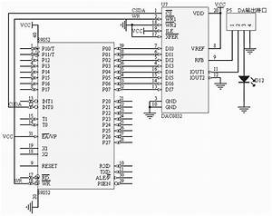 How To Interface Dac 0832 Ic Based Module With 8051