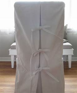 Custom shabby chic parsons dining chair covers in white for Modern armchair covers