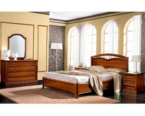 Traditional Style Bedroom Set Classic Made In Italy B