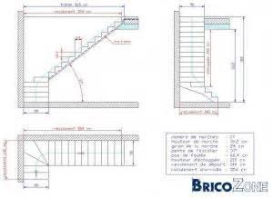 Taille Tremie Pour Escalier Droit by Taille Tr 233 Mie Et Plan Escalier