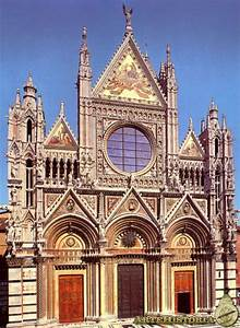 Catedral De Siena  Italia   Fachada