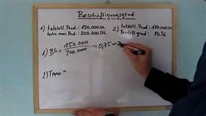 Beschäftigungsgrad Berechnen : besch ftigungsgrad berechnen verst ndlich full youtube ~ Themetempest.com Abrechnung