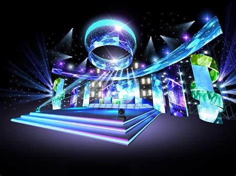 Concert Stage Design 16 3d Model Obj Cgtradercom