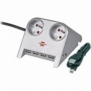 Multiprise Avec Usb : brennenstuhl desktop power 2 prises usb hub 2 0 ~ Melissatoandfro.com Idées de Décoration