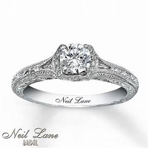 neil lane bridal ring 5 8 ct tw diamonds 14k white gold With neil lane vintage wedding rings