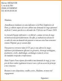 lettre de motivation cadre infirmier 6 lettre de motivation infirmi 232 re format lettre