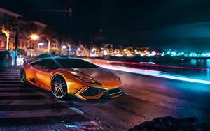 Lamborghinihuracancity Background Free Download