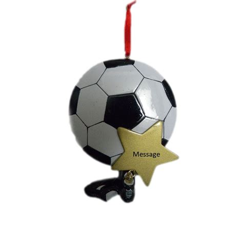 gifts for soccer fans personalized soccer ball ornament great gifts for soccer