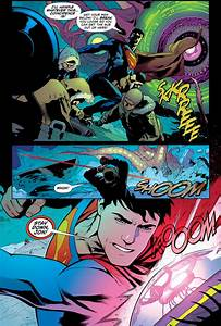 Superman Coaches His Son On Using Heat Vision Comicnewbies