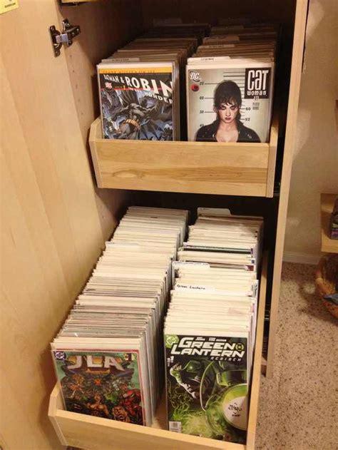ikea comic cabinet comic book storage comic room comic