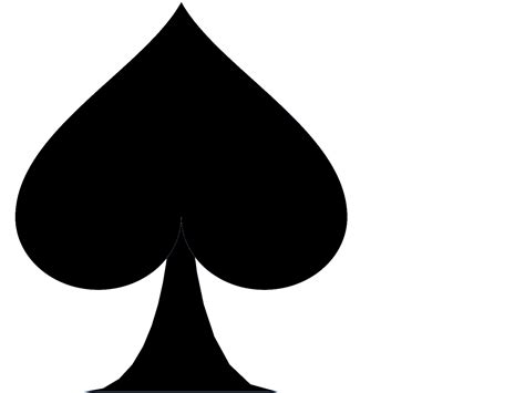 spades card ace of spades clipart cliparts co