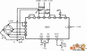 The Interface Circuit Diagram Of Pressure Transmitter