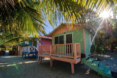 Placencia Beach Front Cabanas Belize Bulls Beach Cabanas