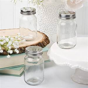 20 glass mason jars wedding favors mini size jars with With mini mason jars wedding favor