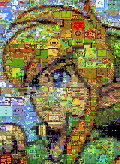 legend  zelda mosaic robert catalano