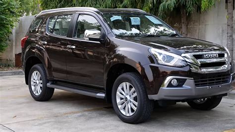 Isuzu Mu-x 2017, 7 Seater Suv, Price In India