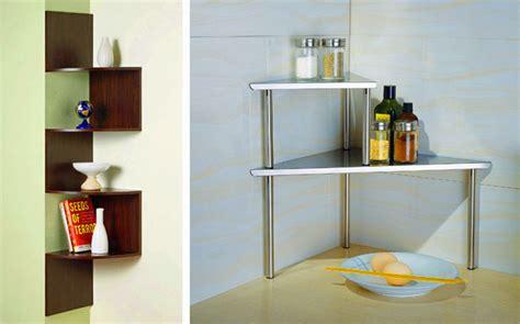 corner shelf ideas shelving for small spaces