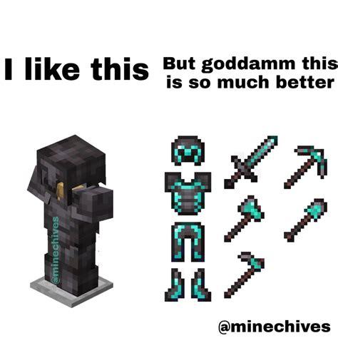 Netherite Armour Texture Packs 10x Better Minecraftmemes