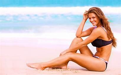 Bikini 4k Beach Smile Wallpapers Background Pc