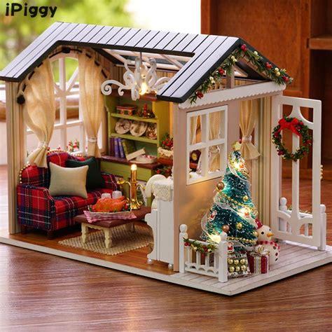 handmade craft miniature model kit dollhouse toys gift