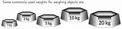 Weight Measuring Measurement Weights Maths Weighing Grade