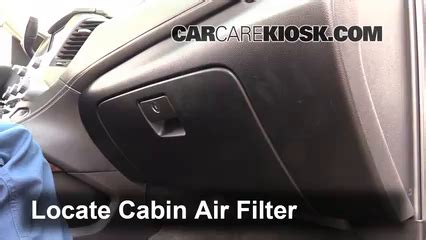 cabin filter replacement chevrolet suburban