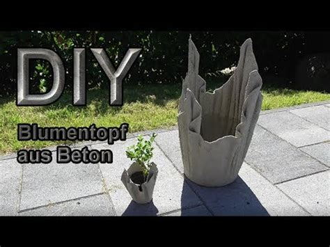 Blumentöpfe Aus Beton Selber Machen by Blumenk 252 Bel Aus Betongetr 228 Nten T 252 Chern Selber Machen Diy