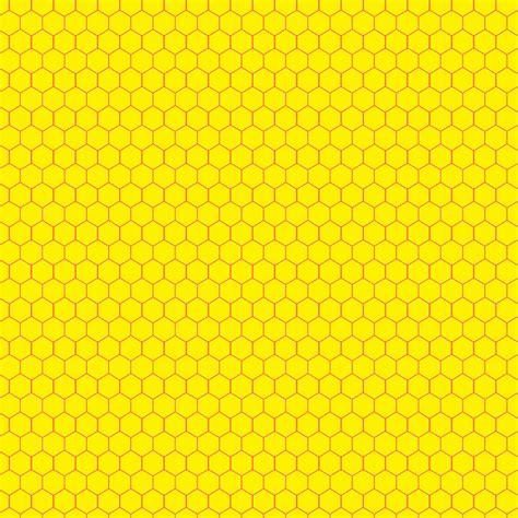 Tapete Gelb Muster by Doodlecraft Hexagon Honeycomb Freebie Background Pattern
