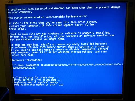 What Does The Whea Uncorrectable Error Blue Screen Mean In