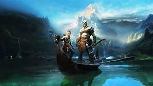 God of War Kratos and Atreus Wallpaper 4K