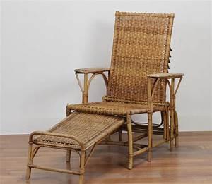 Fauteuil Rotin Design : fauteuil lounge en rotin 1930 design market ~ Nature-et-papiers.com Idées de Décoration
