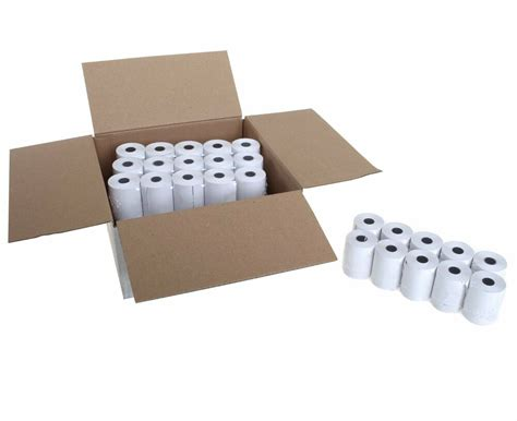 thermal paper templates 20 rolls x thermal paper credit card machine till rolls 57