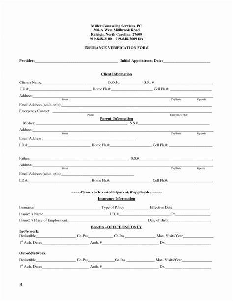 insurance verification form for chiropractic office medical verification form medi cal eligibility enrollment