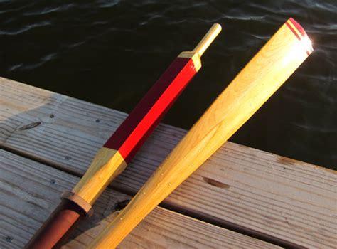 build wood oars  woodworking