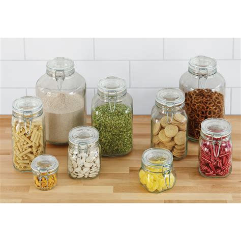 kitchen glass storage jars storage jars hermetic glass storage jars the container 4916