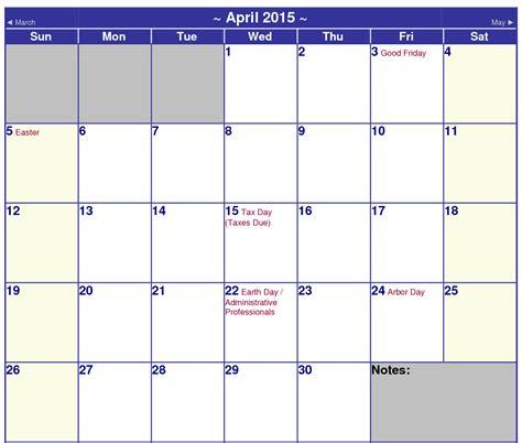Printable 4 Month Calendar 2015 Printable Pages 2015 Calendar Printable One Page Kiddo Shelter