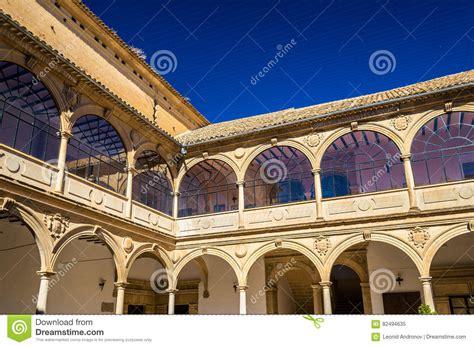 university andalusia baeza spain building