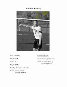 football cv free download With football cv templates free