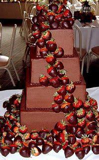 chocolate  strawberries wedding cakes hochzeitstorte