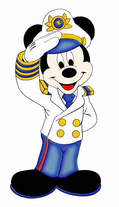 Mickey Mouse Cruise Disney Clipart Minnie Ship