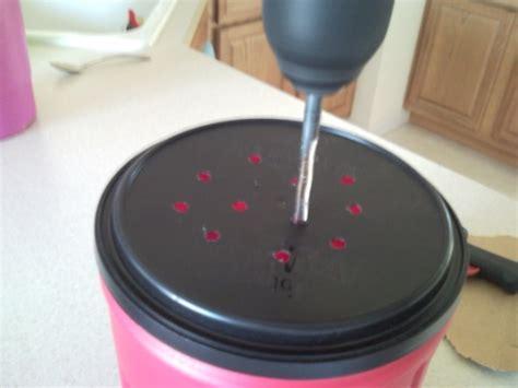 kitchen compost pail bucket bin diy easy  frugal