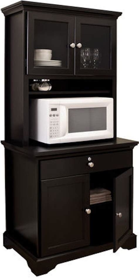 Unfinished Furniture Kitchen Island - microwave cabinet with storage wood shelf and kitchen microwave hutch from red kitchen wall