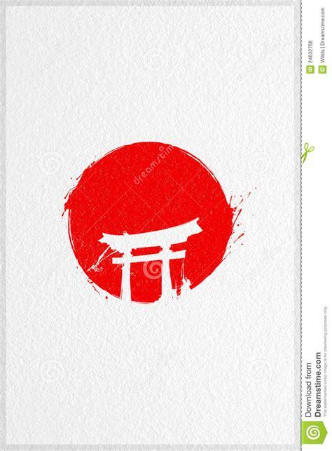 red sun japan flag stock illustration image  milenar