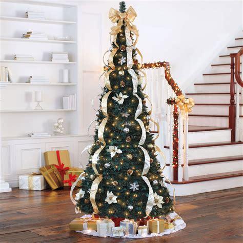 deluxe pop  christmas tree christmas brylane home