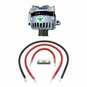 Mean Green High Output Alternator W   Basic Wiring For 99