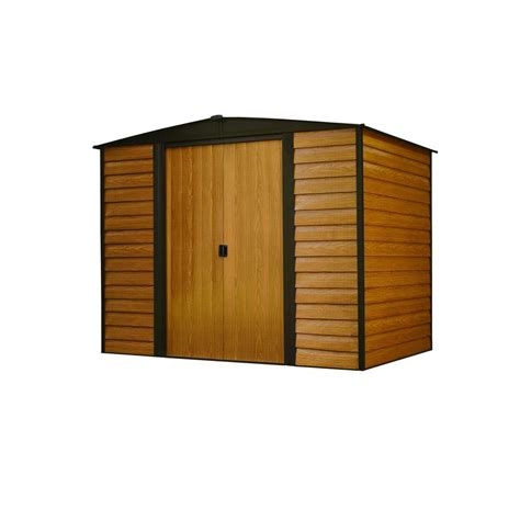 Metal Storage Shed Home Depot by Arrow Woodridge 6 Ft X 5 Ft Metal Storage Building Wr65