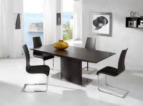contemporary dining room set luxury brown top leather contemporary dinette set and chairs california esfdt02