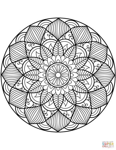 mandala coloring pages free flower mandala coloring page free printable coloring pages